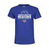 Youth Royal T Shirt-Umass Boston 2017, 2016, 2015, 2013, 2012, 2011, 2010, Volleyball Champs