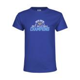 Youth Royal T Shirt-2017 Volleyball Champions