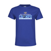Youth Royal T Shirt-2017 Volleyball Champs