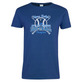 Ladies Royal T Shirt-Softball Champions