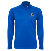 Syntrel Royal Blue Interlock 1/4 Zip-Primary Logo