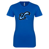Next Level Ladies SoftStyle Junior Fitted Royal Tee-The U