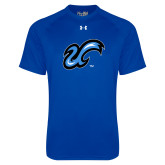 Under Armour Royal Tech Tee-The U