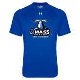 Under Armour Royal Tech Tee-Ice Hockey