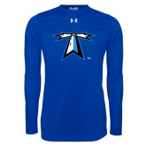 Under Armour Royal Long Sleeve Tech Tee-Lighthouse