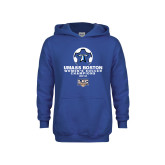 Youth Royal Fleece Hoodie-Umass Boston 2012 Womens Soccer Champs