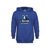 Youth Royal Fleece Hoodie-Ice Hockey