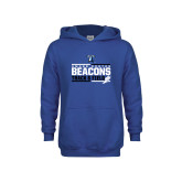 Youth Royal Fleece Hoodie-Beacons Track and Field Stacked