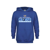 Youth Royal Fleece Hoodie-2017 Volleyball Champs
