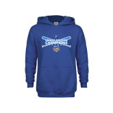 Youth Royal Fleece Hoodie-Umass Boston Softball Champs