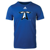 Adidas Royal Logo T Shirt-Lighthouse