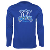 Performance Royal Longsleeve Shirt-2018 Softball Champions