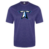 Performance Royal Heather Contender Tee-Lighthouse