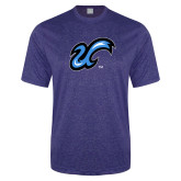 Performance Royal Heather Contender Tee-The U