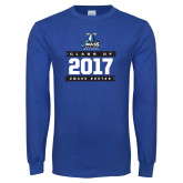 Royal Long Sleeve T Shirt-Class Of - Banners, Personalized year