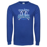 Royal Long Sleeve T Shirt-2018 Softball Champions