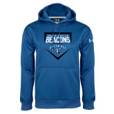 Under Armour Royal Performance Sweats Team Hoodie-Beacons Softball Plate