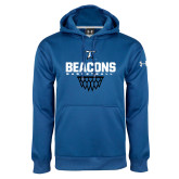Under Armour Royal Performance Sweats Team Hoodie-Beacons Basketball Net