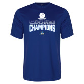 Performance Royal Tee-2018 Womens Basketball Champions