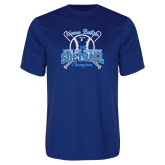 Performance Royal Tee-2018 Softball Champions