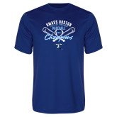 Performance Royal Tee-2018 Baseball Champions