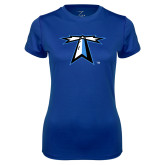 Ladies Syntrel Performance Royal Tee-Lighthouse