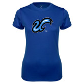 Ladies Syntrel Performance Royal Tee-The U