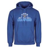 Royal Fleece Hoodie-2017 Volleyball Champions