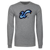 Grey Long Sleeve T Shirt-The U