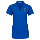 Ladies Royal Dry Zone Grid Polo-Primary Logo
