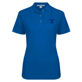 Ladies Easycare Royal Pique Polo-Lighthouse