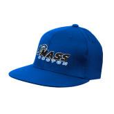 Royal OttoFlex Flat Bill Pro Style Hat-UMass Boston Horizontal