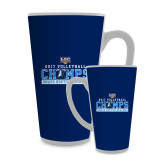 Full Color Latte Mug 17oz-2017 Volleyball Champs