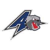 Extra Large Decal-A w/ Bulldog Head, 18 inches Wide