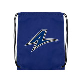 Royal Drawstring Backpack-A
