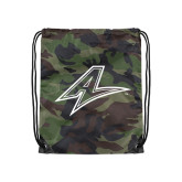 Camo Drawstring Backpack-A