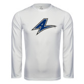 Performance White Longsleeve Shirt-A