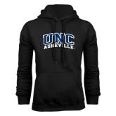 Black Fleece Hoodie-Arched UNC Asheville