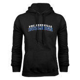Black Fleece Hoodie-Arched UNC Asheville Bulldogs