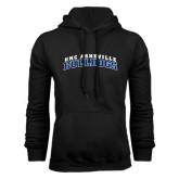Black Fleece Hoodie-Arched UNC Asheville Bulldogs