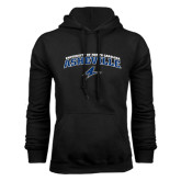 Black Fleece Hoodie-Arched University of North Carolina Asheville Bulldogs