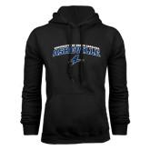 Black Fleece Hoodie-Arched University of North Carolina Asheville Bulldogs