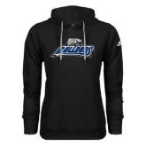 Adidas Climawarm Black Team Issue Hoodie-Bulldogs w/ Bulldog Head