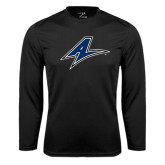 Syntrel Performance Black Longsleeve Shirt-A