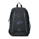 Impulse Black Backpack-A