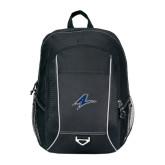 Atlas Black Computer Backpack-A