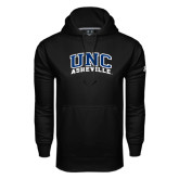 Under Armour Black Performance Sweats Team Hoodie-Arched UNC Asheville