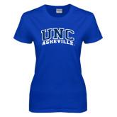 Ladies Royal T Shirt-Arched UNC Asheville
