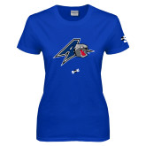 Ladies Royal T Shirt-A w/ Bulldog Head