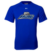 Under Armour Royal Tech Tee-Bulldogs w/ Bulldog Head